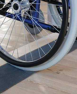 6, 12, 16mm Rubber Wheelchair Threshold Ramp, Mobility Equipment