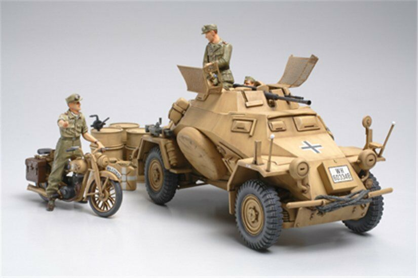 Tamiya 35286 1 35 Sd.Kfz.222 North Africa Model Kit Ryu