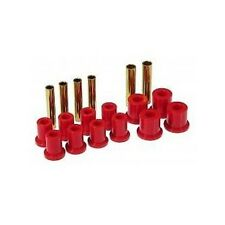 Prothane 71-87 Chevy GMC K10 K20 K30 Front Spring Eye Shackle Bushing Kit Red