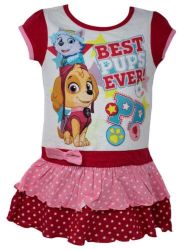 Girls Dress Peppa Pig Or Paw Patrol 1-8 Years