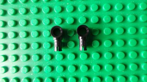 Lego Technic Black Pin Friction Ridges Lengthwise /& Pin Hole 15100 x 2 NEW *
