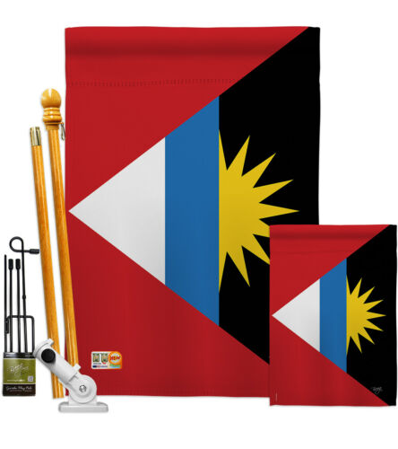Details about  /Antigua and Barbuda Garden Flag Regional Decorative Gift Yard House Banner