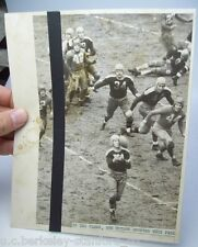 Original 1938 NFL CHAMPIONSHIP Photo: DON HUTSON of Green Bay PACKERS vs. GIANTS