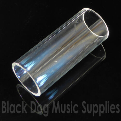 Glass guitar slide 28mm or 60mm long x 21mm internal diameter
