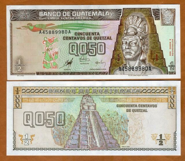 GUATEMALA 100 QUETZAL P114 2006 BIRD UNIVERSITY UNC LATINO MONEY BILL BANK NOTE