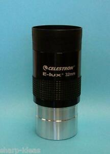 "Celestron 32mm 2"" Long Eye Relief Telescope Eyepiece - NEW"