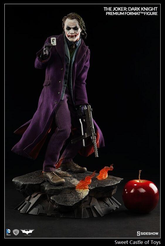 Sideshow 1/4 Batman The Joker:The Dark Knight Premium Format PF Figure 300251