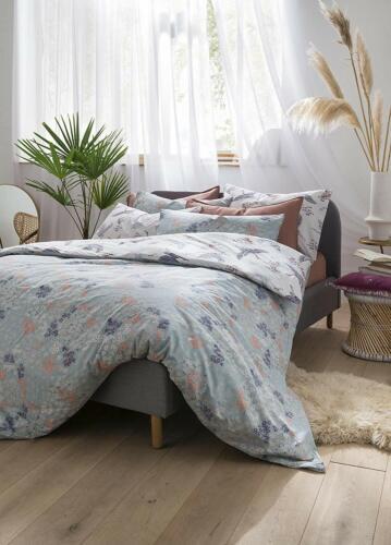 FatFace Designer Bedding Floral Flight Crane Iris Duvet Cover Set 100/% Cotton