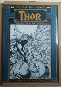 Walt Simonson's Thor Return of Beta Ray Bill Artist's Edition Sealed NM