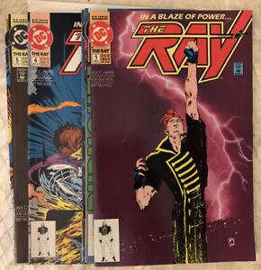 The-Ray-1-2-3-4-5-6-DC-1992-Complete-mini-SERIES-Quesada-NM-1st-Ray-Terrill