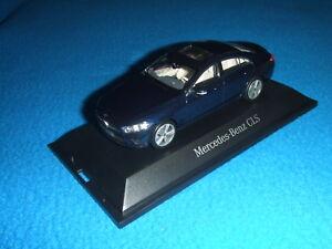 Mercedes-Benz-C-257-CLS-Coupe-2018-Cavansite-Blue-1-43-New-Boxed
