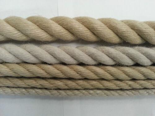 Corde-chanvre synthétique pour planchers, jardin et de navigation de plaisance (6-24mm)