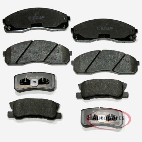 Mitsubishi Pajero 3 III Bremsbeläge Bremsklötze Bremsen für vorne hinten