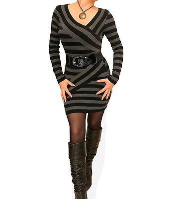 Neuf noir et gris à Rayures boléros, cache-épaules - Manches Longues