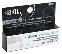 Ardell Lashtite Clear Eyelash Adhesive For Individual Lashes- 0.125oz (130131}