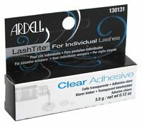 Ardell Lashtite Clear Eyelash Adhesive For Individual Lashes- 0.125oz (130131}