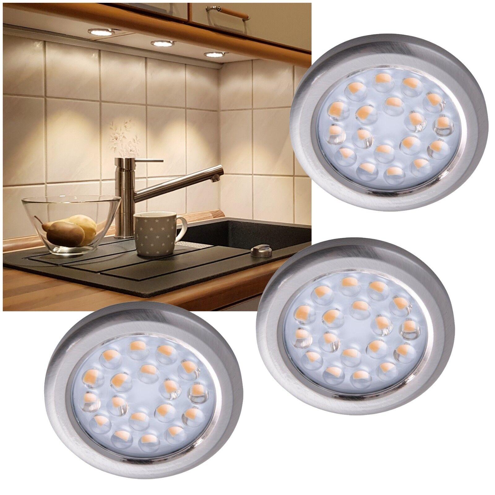 LED Aufbauleuchte Set EEK  A 183 366lm 230V 3,6W slim flach Küchen Möbel-Leuchte     | Überlegen  | Zu verkaufen  | Verkaufspreis