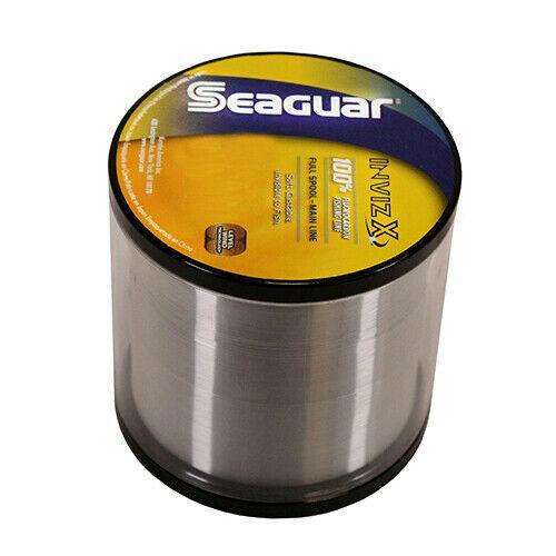 Seaguar Invizx 100/% Fluorocarbon 1000 yd 17 lb 17VZ1000