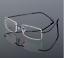Flexible-titanium-alloy-rimless-Eyeglasses-Women-Men-glasses-Frames-optic-Black thumbnail 1
