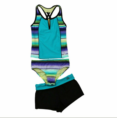FullBo Seashells Summer Beach Blue Little Boys Short Swim Trunks Quick Dry Beach Shorts