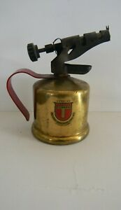 MINI-Turner-Antique-Brass-Blow-Torch-Gasoline