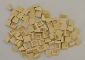 100 x LEGO® 1 x 1 SCHRÄG DACHZIEGEL DACHSTEIN GLATT 1ER 54200 NEU SAND TAN BEIGE Baukästen & Konstruktion