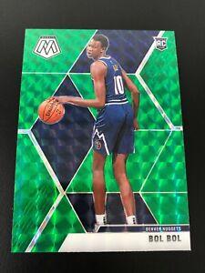 Bol-Bol-2019-20-Mosaic-Green-Prizm-RC-Denver-Nuggets-222-Rookie-Card-HOT