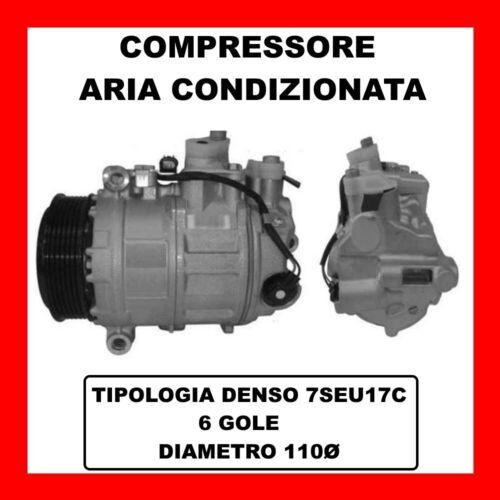 COMPRESSORE AC 13341 MERCEDES SLK 55 AMG R171 DAL 2004 KW265 CV360 M113.989
