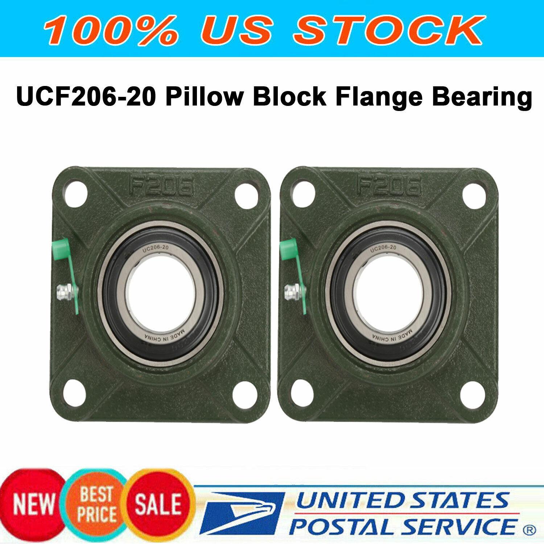 TIMKEN Flange Block Bearing  E-4BF-TRB 2  4 Bolt Square Flange Block 2 Inch Bore