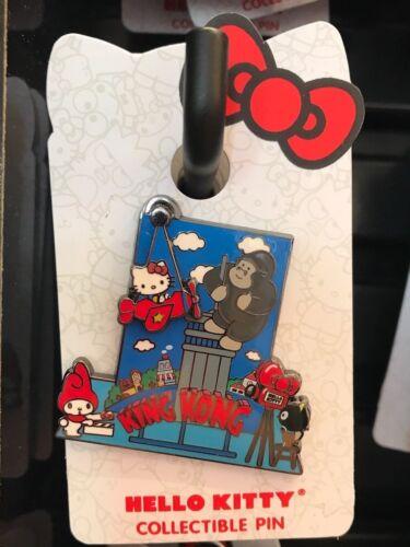 Universal Studios Hello Kitty King Kong Collectible Pin New on Card