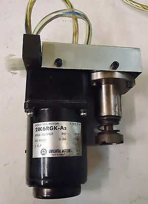 Output:6w Purposeful Oriental Inductionl Motor M/n 21k6rgk-a2 Made In Japan Max 100w,