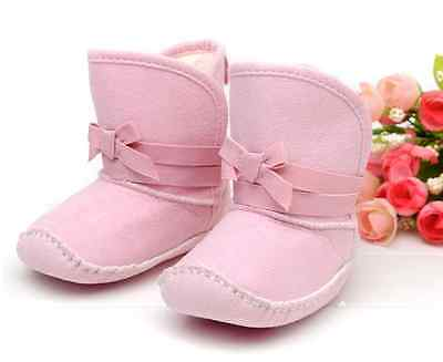 NEW Baby Girl Hot Pink Ruffle Boots Booties //Newborn//0-6-12 months