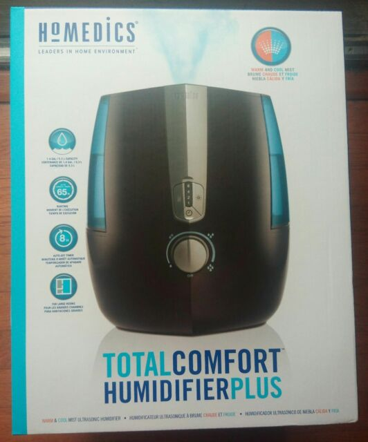 HoMedics Warm or Cool Mist Ultrasonic Humidifier Black (UHE WM15A)