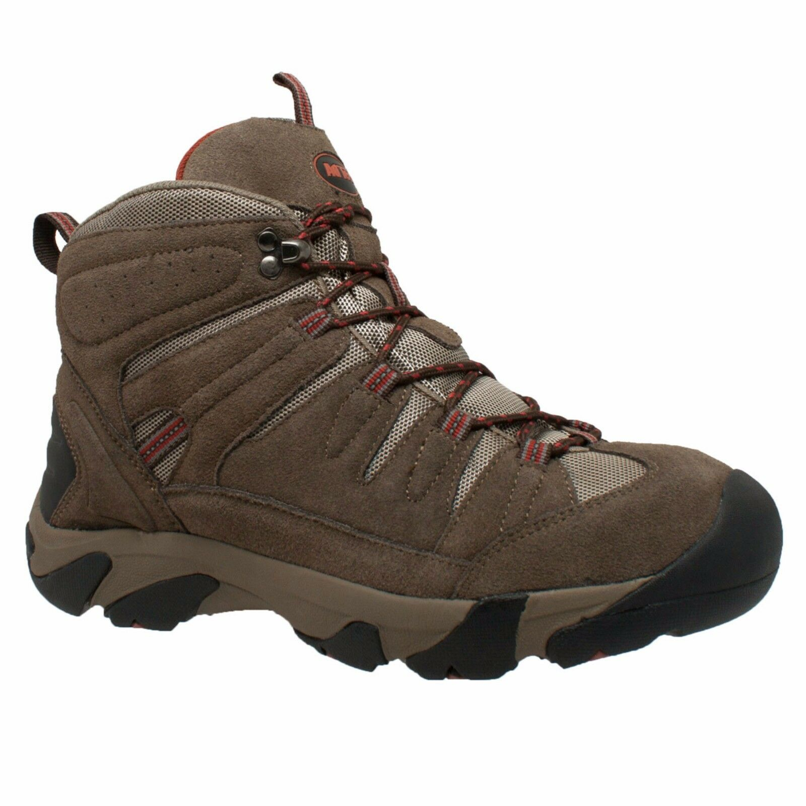 9640C AdTec Brown, Men's Waterproof Composite Toe Work Hiker Suede Leather Boot