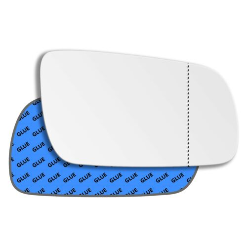 Right Driver Side Wide Angle Mirror Glass for Skoda Superb 2001-2006 0001RAS