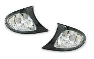 Pair For BMW E46 3 Series 4DR Sedan 1999-2001 325i 330i Corner Lights Sidelights