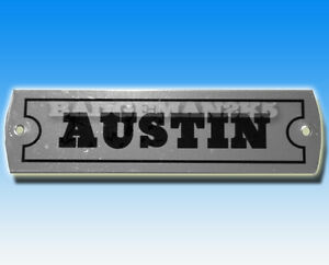 AUSTIN-MINI-COOPER-A-Series-Rocker-Cover-Chassis-Vehicle-Plate