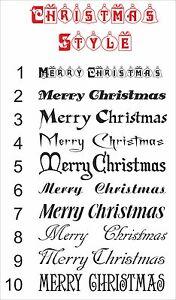 MERRY-CHRISTMAS-sticker-or-Your-Name-Text-CHRISTMAS-STYLE-decal-vinyl-wall-art