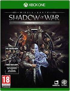 Middle-Earth-SHADOW-OF-WAR-Edicion-Plata-Xbox-One-NUEVO-PRECINTADO