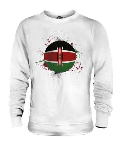 Kenia Fútbol Unisex Suéter Regalo Top Copa Del Mundo Deporte