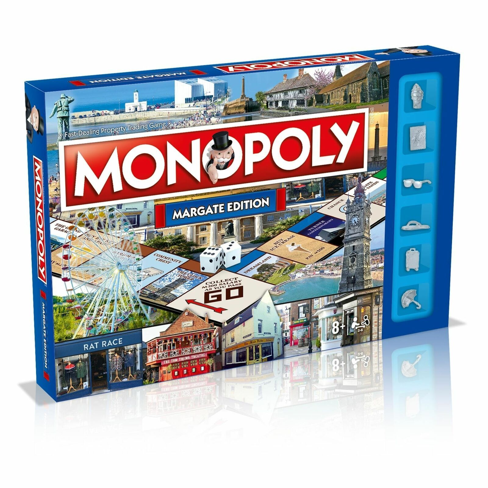 Margate Edition Edition Edition Monopoly Property Trading Board Game d60665