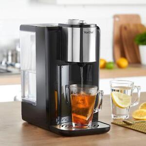 Water Dispenser Black Gloss Hot Boil Kettle Tea Kitchen