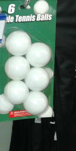 Set 6 Balls Tennis Sports Table Tennis Table Sport