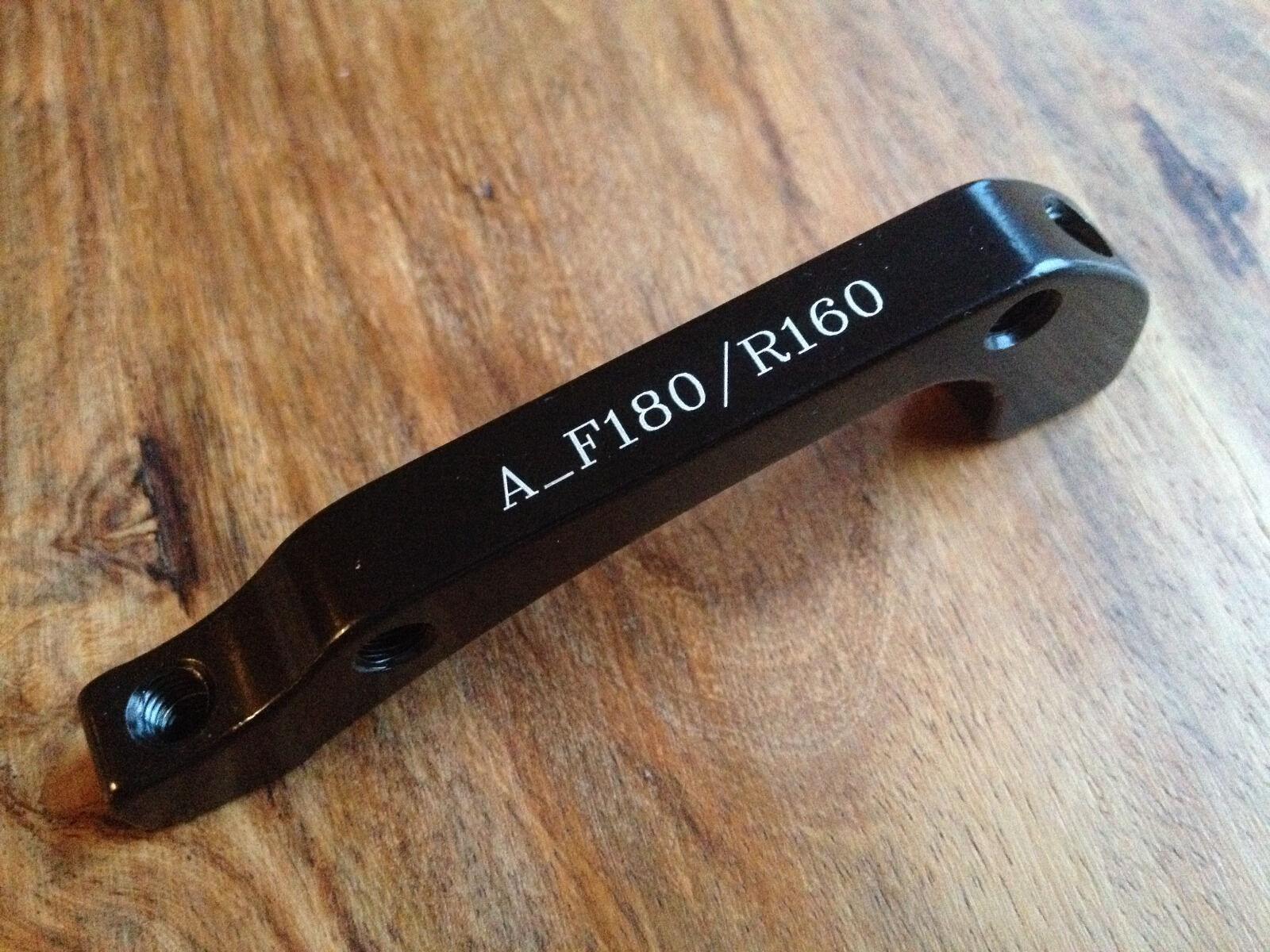 150 St pcs Scheibensbremsadapter Disc brake adaptor IS PM F180 R160