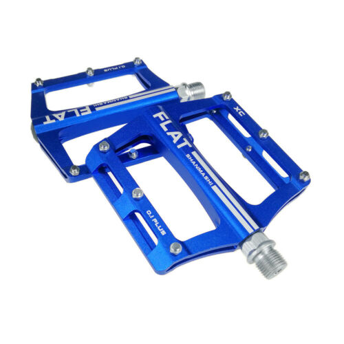 1 Pair Mountain Bike Flat Pedal Aluminum Cycling Road Bicycle MTB Spare Parts