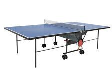 Tischtennisplatte outdoor Sponeta 1-13e Blau mi Netz wetterfest Tischtennistisch