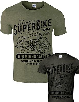 Womens Biker T-Shirt Motorbike Motorcycle Bike Superbike Birmingham