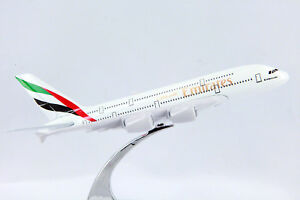 EMIRATES-DIECAST-METAL-PLANE-AIRCRAFT-MODELS-ON-STAND-14cm-AEROCRAFT