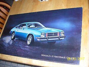 Remarkable Details About Vintage Chevrolet Monza 2 2 Gm Dealer Showroom Poster Sign 32X18 Cardboard Download Free Architecture Designs Scobabritishbridgeorg