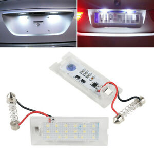 LED-Kennzeichenbeleuchtung-Licht-Set-fuer-BMW-X3-E83-2003-2010-X5-E53-1999-2006